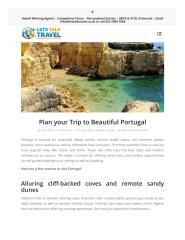 Plan your Trip to Beautiful Portugal.pdf