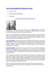 teori psikoanalitik oleh sigmund freud.docx