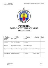 DRIVE SAFETY PROCEDURE 2.doc