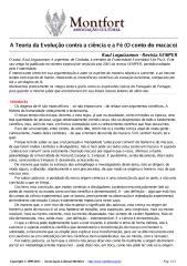 A Teoria da Evolução Contra a Ciência e a Fé - O Conto do Macaco - Raul Leguizamon Revista Semper.pdf