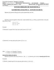 GEOMETRIA ANALÍTICA.doc