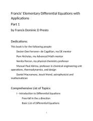 FULL DOCUMENT! - Francis' Elementary Differential Equations for KINDLE FORMAT.docx