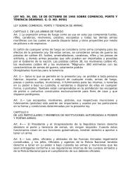LEY NO 36 PORTE Y TENENCIA DE ARMAS DE FUEGO.docx