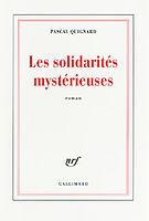 Quignard,Pascal - Les solidarités mystérieuses.epub