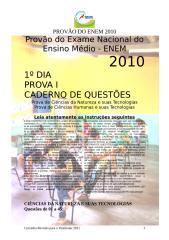 PROVÃO DO ENEM 2010 - OFICIAL - 1º DIA - PROVA II.doc