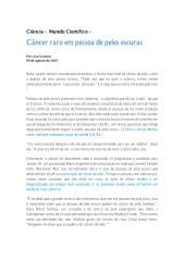 Câncer raro em pessoa de peles escuras.pdf