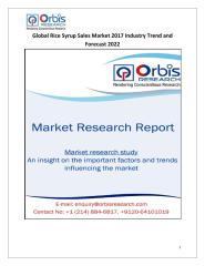 Global Rice Syrup Sales Market 2017 Industry Trend and Forecast 2022.pdf