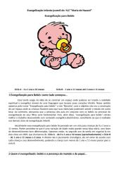 evangelização para bebês - mini apostila 2009.doc