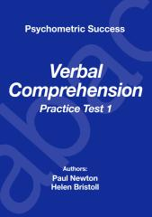 Psychometric Success Verbal Ability - Comprehension Practice Test 1.pdf