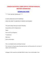 CANON MultiPASS C3000 SERVICE REPAIR MANUAL INSTANT DOWNLOAD.pdf